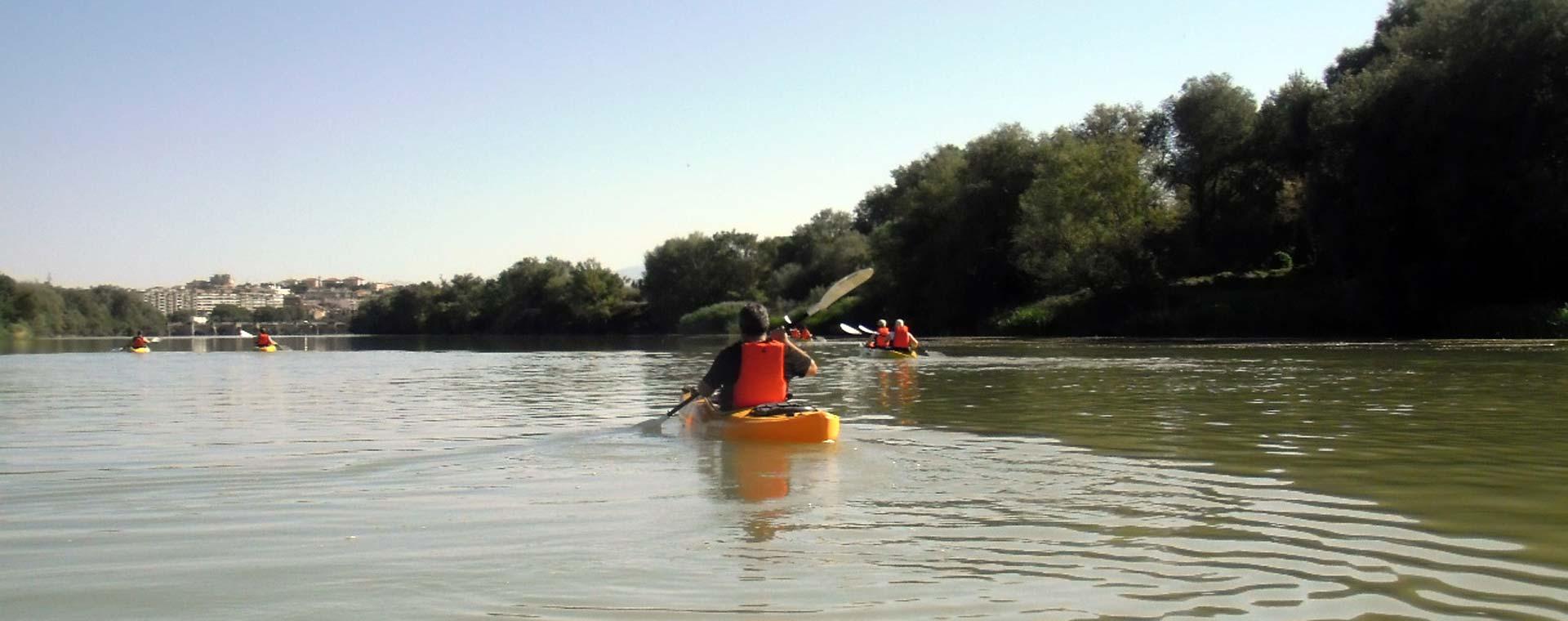 Kayak: Cenicero – Lapuebla de la Barca